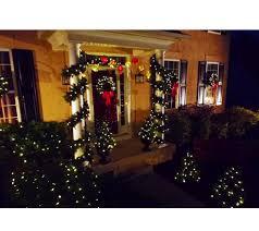 bethlehem lights prelit mixed greens holiday collection u2014 qvc com
