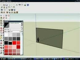 how to make one way glass on google sketch up youtube