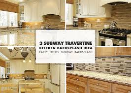 subway kitchen backsplash brown travertine backsplash tile subway plank backsplash