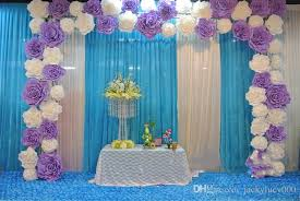 Wedding Backdrop Design Philippines 2017 New 10 Cm To 60 Cm Dia Wedding Backdrop Decoration 3d Foam