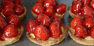 jeux de cuisine de aux fraises tartelettes aux fraises et crème pâtissière recette sur cuisine
