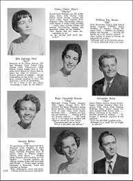 class yearbook nyack hs class of 1955 yearbook senior class pages princesses and