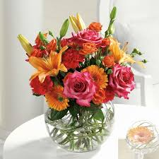 cheap flower delivery 20 bowl of beauty in quincy il adam florist