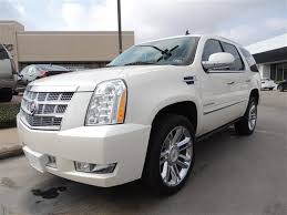 cadillac escalade for sale in houston tx 2014 cadillac escalade platinum platinum 4dr suv suv 4 doors white