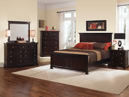 Bassett Bedroom Furniture Furniture Vaughan Bassett Furniture Forsyth Panel Bed With Dark
