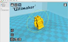 adjusting the model ultimaker 3d printers