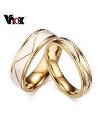 bluelans wedding band ring stainless steel matte ring rings