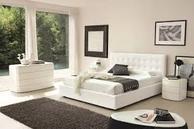 White Bed White Modern Bed Design Ideas For Bedroom With White Modern Bed
