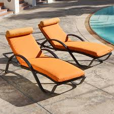 Pool Chaise Lounge Chaise Floating Pool Lounge Chair With Orange Tone Fit With Black