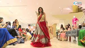 anita designer boutique launch and fashion show kilpauk garden