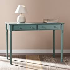 Winfield Home Decor Ltd Harper Blvd Winfield Agate Green 2 Drawer Writing Desk Free