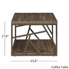 iron and wood side table lincoln metal contemporary distressed wood coffee table or side