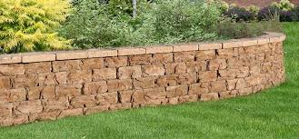 fossill stone garden walls natural concrete products