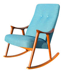 Modern Rocking Chair Vintage Danish Modern Rocking Chair By Rastad U0026 Relling For Møre