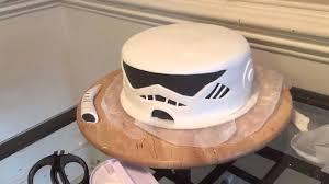 storm trooper cake for nyles u0027 16th birthday youtube