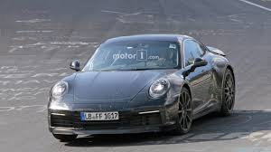 new porsche 2019 is this spied 2019 porsche 911 a hybrid 24 photos