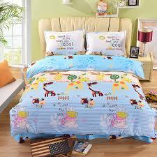 Giraffe Bedding Set Kawaii Giraffe Bedding Set 4pcs Deer King Size Duvet