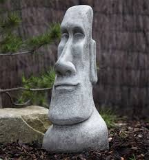 sculpture large easter island statue s s shop