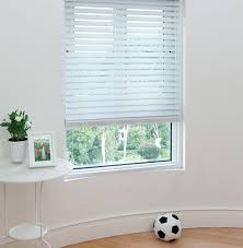 2 Inch White Faux Wood Blinds Amazon Com 2