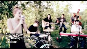 miley cyrus the backyard sessions jolene lyrics deutsche