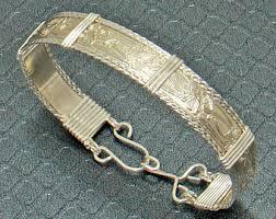 silver wire bangle bracelet images Wire wrap bracelet etsy jpg