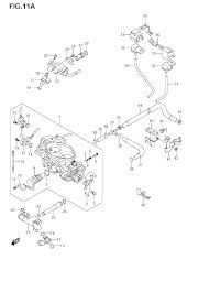 2005 suzuki boulevard m50 vz800 throttle body model k9 parts
