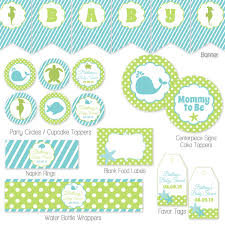 Baby Shower Supplies Store In Los Angeles Photo Baby Shower Decorations Party Image