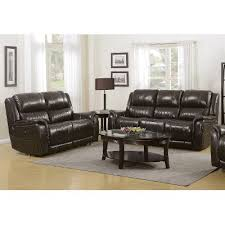 Power Leather Reclining Sofa Gray Leather Match Power Reclining Sofa And Loveseat Hearst Rc