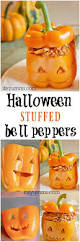 halloween stuffed bell peppers fun halloween meals it u0027s yummi