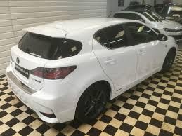 lexus ct hybrid tires second hand lexus ct 200h 1 8 f sport 5dr cvt auto premium sat