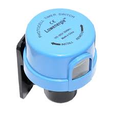 Outdoor Timer With Light Sensor - pocell timer light switch daylight dusk till dawn sensor light