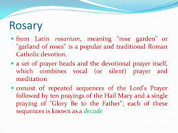 the rosary ppt