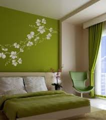 Retro Floral Designs Green Room Decorating Ideas Green Decor - Green bedroom design ideas