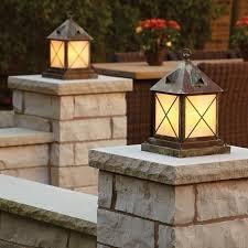 outdoor pier mount lights outdoor living space lit with exterior pier lights brass light gallery