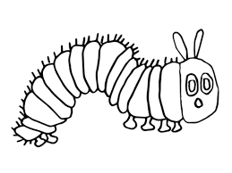 the most elegant very hungry caterpillar coloring pages printables