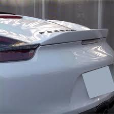 Porsche Boxster S 2016 - 2013 2016 porsche boxster ducktail rear wing spoiler
