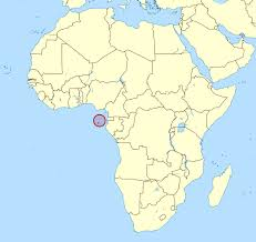 World Map Africa by Detailed Location Map Of Sao Tome And Principe In Africa Sao