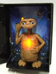 Free Collectible E T Toy Light up Belly and Finger Other