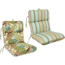 Outdoor Furniture Cushions Walmart by Reversible Deluxe Outdoor Chair Cushion Multiple Colors Walmart Com