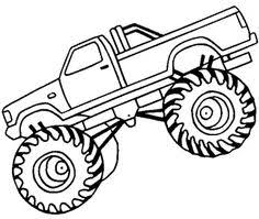 monster truck color pages birthday ideas pinterest monster