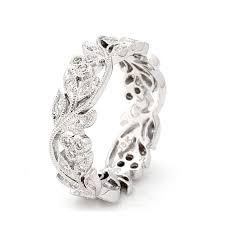 cheap white gold wedding rings white gold diamond wedding rings moritz flowers