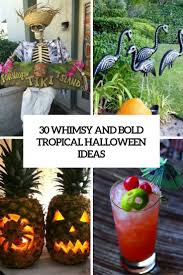 halloween ideas 30 whimsy and bold tropical halloween ideas digsdigs