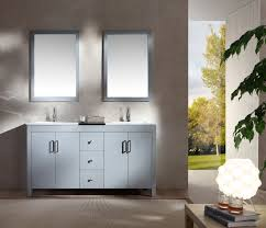 bathroom dark wood 60 vanity for exciting bathroom cabinet design