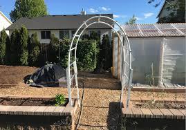 garden arch trellis update youtube