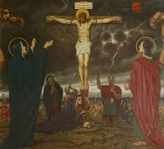 jesus dies upon the cross art uk