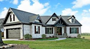Craftsman Style Ranch Homes Plan 12262jl Expandable Rustic Ranch Island Stove Breakfast