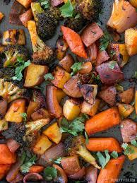 harissa roasted vegetables budget bytes