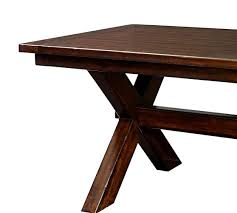 Extending Wood Dining Table Toscana Extending Dining Table Alfresco Brown Pottery Barn