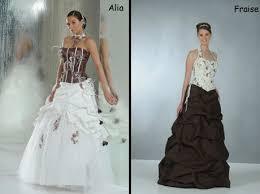robe de mariã e grise et blanche robe mariée blanche et grise photos de robes
