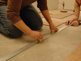 How To Install T Moulding For Laminate Flooring How To Install Tile On A Bathroom Floor Hgtv